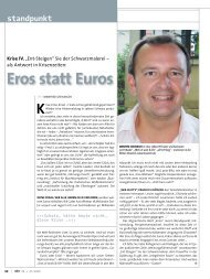 Eros statt Euros Krise - Edition Stoareich