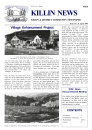 The Killin News - Issue 31 - The Killin Web Site