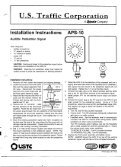Audible Ped Signal (APS-10) sheet and guide.pdf - Peek Traffic - Page 3