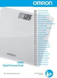 HN286 Digital Personal Scale - Omron Healthcare