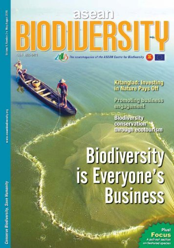 Download the PDF version of the ASEAN Biodiversity