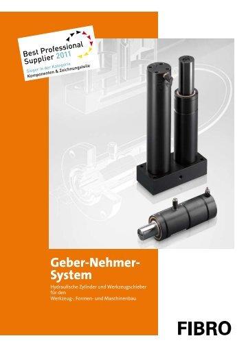 Katalog - Geber-Nehmer-System - DE - Fibro GmbH
