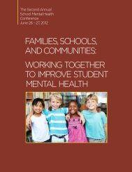 working together to improve student mental health - Illinois ...