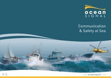 Communication & Safety at Sea - Ocean Signal