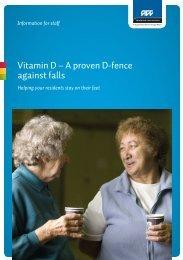 Vitamin D – A proven D-fence against falls - ACC