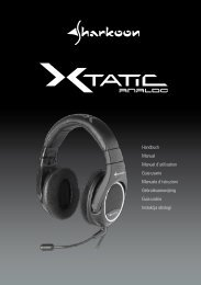x-tatic analog - Sharkoon