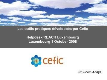 SIEFreach - Helpdesk REACH & CLP