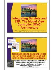The Model View Controller (MVC) - Custom Training Courses ...