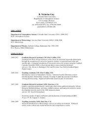B. Nicholas Guy - CSU Radar Meteorology Group - Colorado State ...