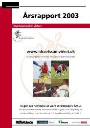 2003 Årsrapport(.pdf) - Idrætssamvirket Århus