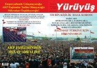 AKP FAŞİZMİNDEN HESAP SORALIM! - Yürüyüş