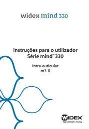 Instruções para o utilizador Série mindTM330 - Widex