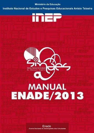 Manual Enade_2013