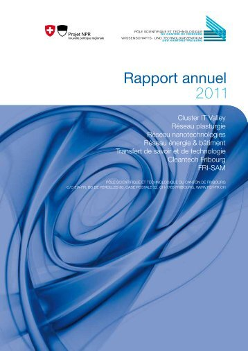 Rapport annuel 2011 - PST-FR