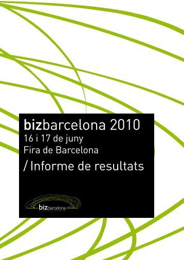 bizbarcelona 2010 - Index of - Fira de Barcelona