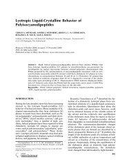 Lyotropic liquid-crystalline behavior of polyisocyanodipeptides