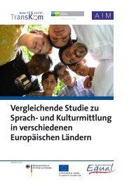 Vergleichende Studie zu Sprach- und Kulturmittlung in - Transkom