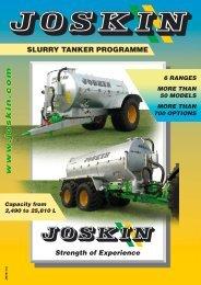 Slurry Tanker Programme