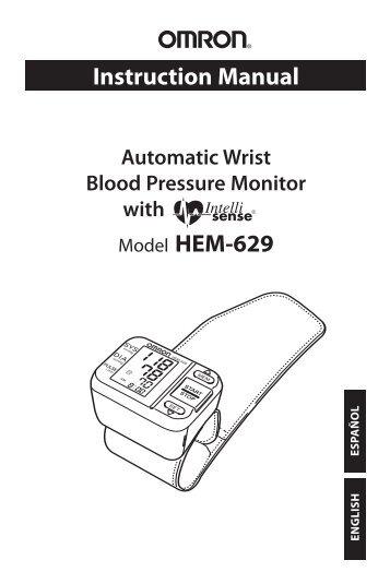 Manual Blood Pressure Monitor Model Hem Relion