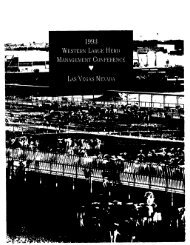 93wdmc 1993 Western Large Herd Dairy Management Conference