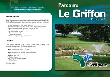 Consulter la carte de pointage (PDF) - Le Versant