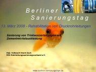 Berliner Sanierungstage