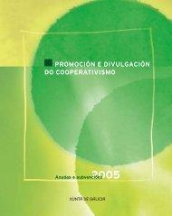 promoción e divulgación do cooperativismo - Consello Galego de ...