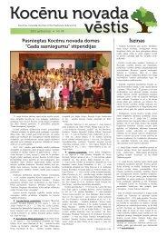 Kocēnu Novada Vēstis - Kocēnu novada dome :: Jaunumi