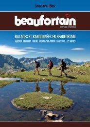 BALADES ET RANDONNÉES EN BEAUFORTAIN - Le Beaufortain