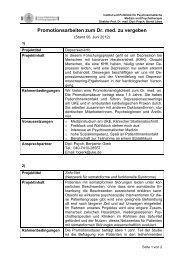 Die Forschungsgruppe Qualitätsmanagement sucht zur Mitarbeit in ...