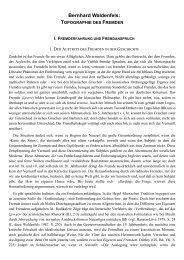 Bernhard Waldenfels: TOPOGRAPHIE DES FREMDEN