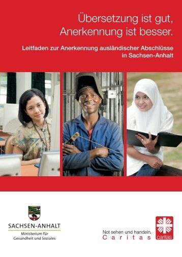 Übersetzung ist gut, Anerkennung ist besser. - Otto Benecke Stiftung ...