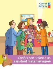 Confier son enfant à un assistant maternel agréé - Conseil Général ...