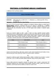Protokol o otevírání obálek (25/09/2012, pdf ... - Město Česká Lípa