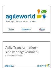Download - Agile World 2013