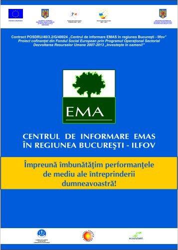 Brosura - Centrul de informare EMAS in Regiunea Bucuresti-Ilfov