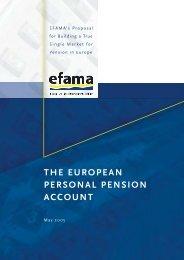 EPPA: The European Personal Pension Account - Efama
