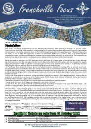 Newsletter-2012-10-11 - Frenchville State School
