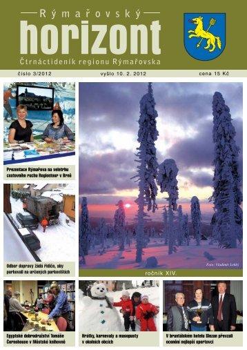 Rýmařovský horizont 3 - 2012 - Středisko volného času Rýmařov