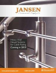 INOX Stainless Steel Catalog - Jansen Ornamental Supply