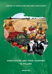 agriculture and food economy in poland