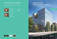 Objektbroschüre Greencity Pergamin I und II (2,8 ... - Greencity Offices