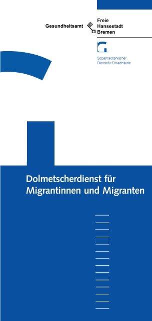 Dolmetscherdienst für Migrantinnen und Migranten
