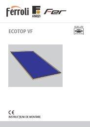 Caiet tehnic - ECOTOP VF - Ferroli