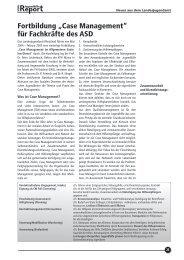 Neues aus dem Landesjugendamt - Landschaftsverband Rheinland