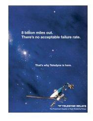 Space EMR Catalog - Teledyne Relays