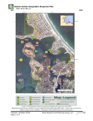 Boston Harbor Geographic Response Plan Weir River BH-13 ...