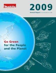 Annual Report - Makita Corporation Global Site
