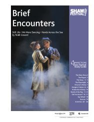 Brief Encounters - Shaw Festival Theatre