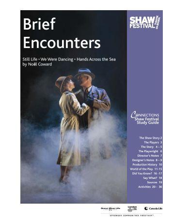 Brief Encounters - Shaw Festival Theatre